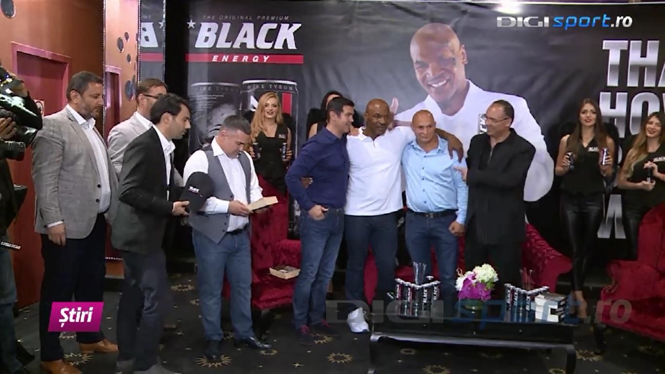 Mike Tyson la Merkur Sala Jocuri Prosper Bucuresti