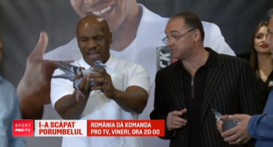 Romanul care vrea sa-i duca pe Dinu si Simion catre titlul mondial impartaseste pasiunea lui Tyson!