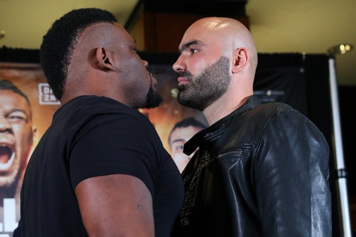 Meci istoric: Bogdan Dinu și Jarell Miller se luptă pentru titlul mondial WBA pe 17 noiembrie 2018