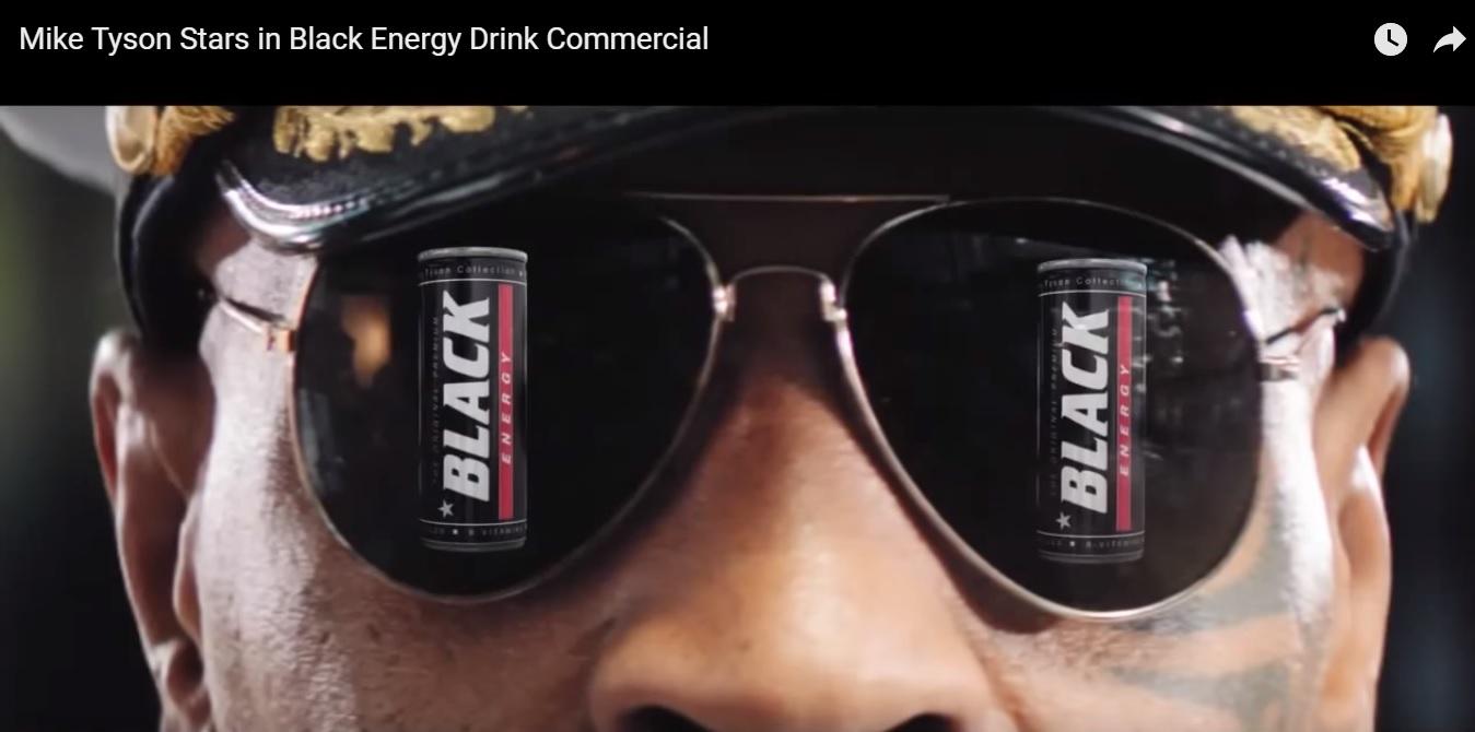 Mike Tyson prezintă Black Energy