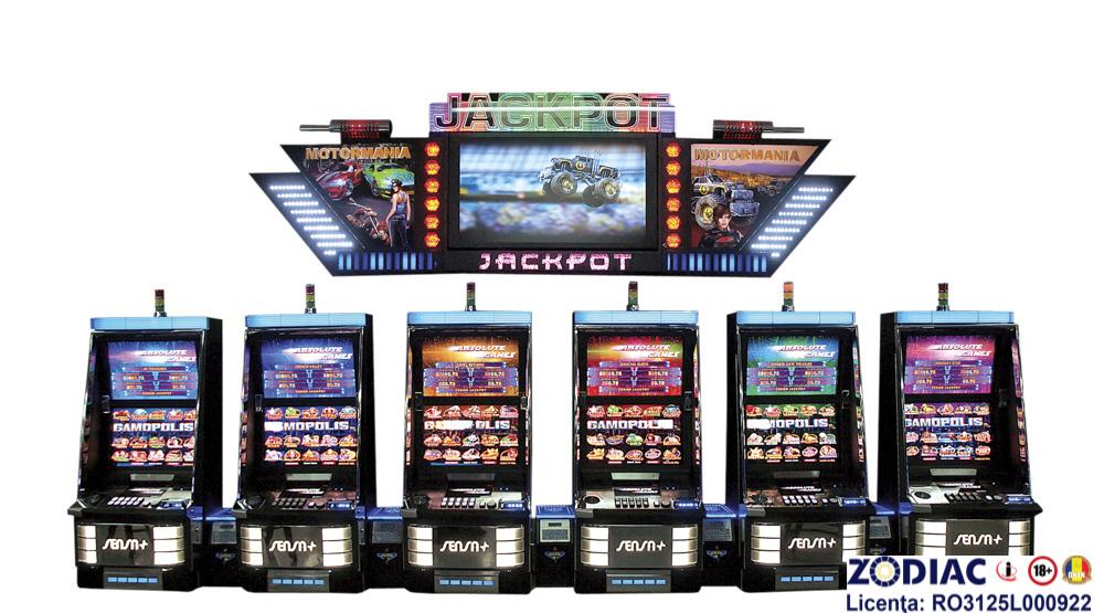 GAMOPOLIS - MOTORMANIA JACKPOT, Sensa+; Casino Technology