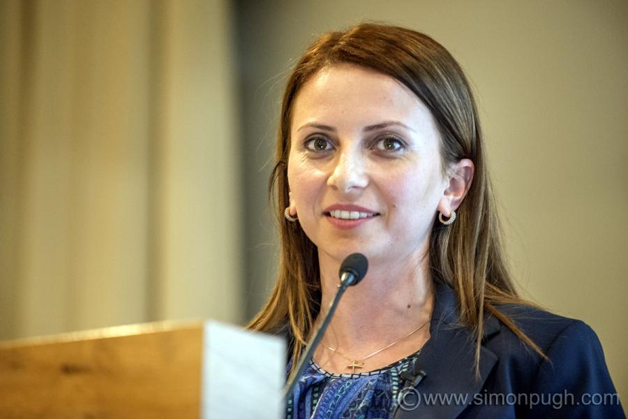 Valentina Dobre, Vicepresedinte ROMSLOT – singurul speaker din Romania la EUROMAT Gaming Summit