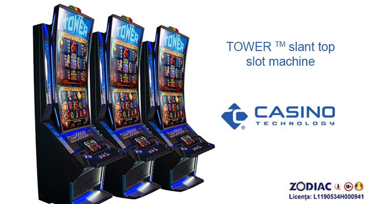 Noua linie de aparate TOWER ™ - CASINO TECHNOLOGY