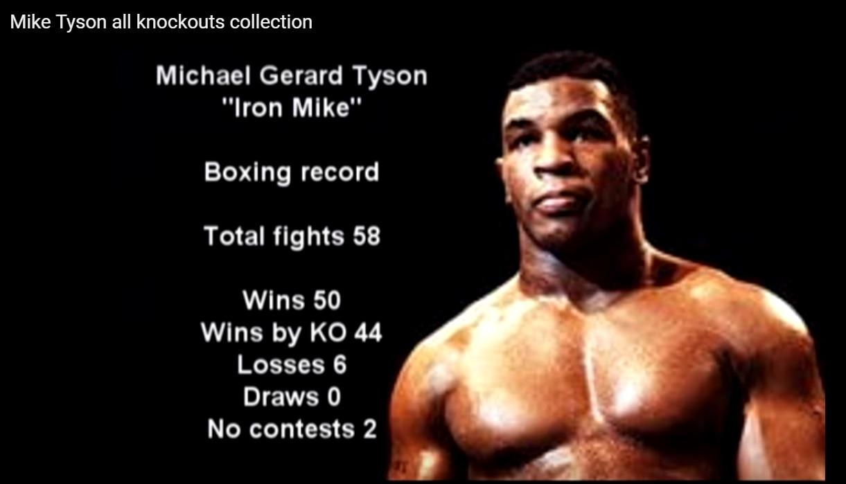 Impresionanta colecţie de KO a campionului Mike Tyson
